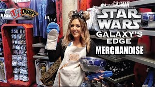 Complete Guide For Shopping & Merchandise In Star Wars Galaxy's Edge! Disneyland Merch Search 2019