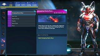 Injustice 2 - Black Manta All Unlockable Abilities (1080p 60FPS)