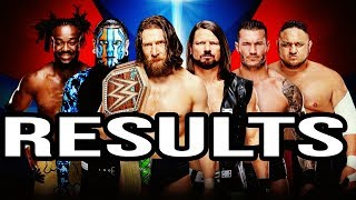 FULL ELIMINATION CHAMBER 2019 RESULTS