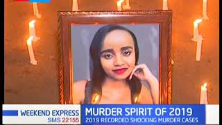 The year 2019 saw shocking murders for love