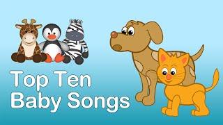 TOP 15 BABY SONGS | 20 MINS LONG. Preschool and Baby Learning Songs