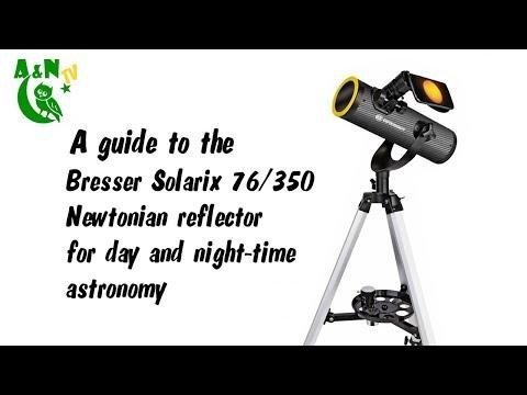 The Bresser Solarix 76/350 Newtonian telescope