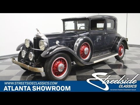 Video of '31 Packard Antique located in Lithia Springs Georgia - $47,995.00 Offered by Streetside Classics - Atlanta - QG5Q
