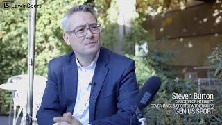 Sports data, betting, governance & the law, Steven Burton, Genius Sports (FULL INTERVIEW)