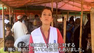 世界の医療団:ロヒンギャ難民危機1