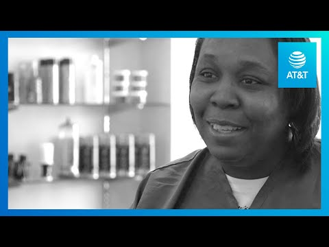 Dallas Barber Gives Free Haircuts to the Homeless | AT&T Believes-YoutubeVideoText