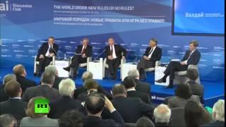 ЭТО ЗАПРЕТИЛИ ПОКАЗЫВАТЬСЯ В США  Самая антиамериканская речь Путина!!!  2015  СЕГОДНЯ