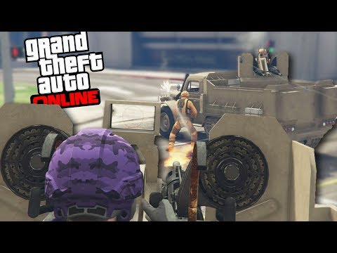 A Whole HOUR of All Out WAR [GTA 5 Online and Chill] #11