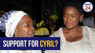 """Bathabile Dlamini: """"We will work with Cyril"""""""