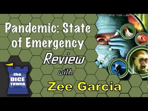 The Dice Tower reviews Pandemic: State of Emergency