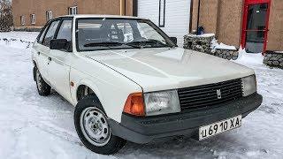 Нашли НОВЫЙ Москвич-2141 1992 года с пробегом 417 км Капсула времени
