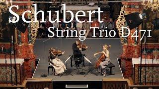 Franz Schubert: String Trio D 471 / Veronika Eberle, Amihai Grosz, Sol Gabetta