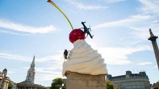 video: A Fourth Plinth sculpture as disturbing as life in 2020 Britain