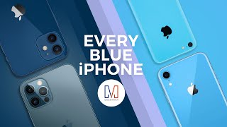 Every Blue iPhone Unboxed