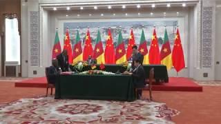 Signature des Accords de coopération entre le Cameroun et la Chine   22 03 2018   Kholo.pk