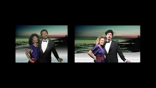 """Side-by-Side Comparison of Dennis Edwards' """"Don't Look Any Further"""" (Original vs Parody)"""