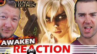 Awaken Cinematic REACTION - League of Legends  ( LoL )