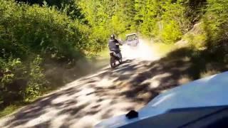 North Idaho ATV ride