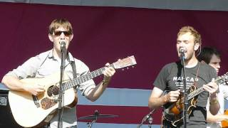 Punch Brothers - Dead Leaves and the Dirty Ground (White Stripes cover) Live @ Bonnaroo 2012