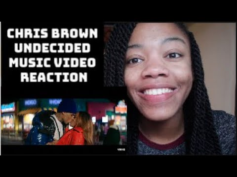Chris Brown - Undecided (Official Video) REACTION