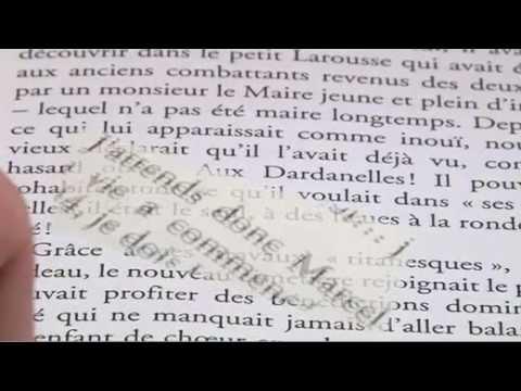 Vidéo de Françoise Xenakis