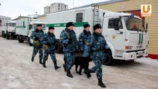 UTV. Уфимских журналистов конвоировали на место съемки в автозаке