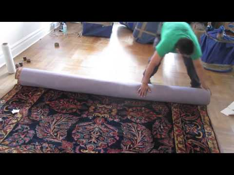 How To Pack And Wrap A Rug For Move