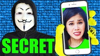 CAPTURE VY QWAINT's PHONE from PZ9 - Project Zorgo Hackers to Reveal Spy Ninjas Secrets