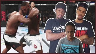 BROTHERS DUKE IT OUT IN THE OCTAGON!! - UFC 2 Gameplay