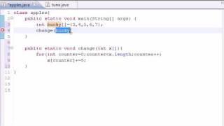 Download Youtube: Java Programming Tutorial - 32 - Arrays in Methods