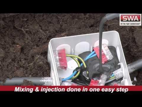 SWA Cellpack AMX Resin Demonstration