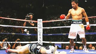 Knockout Manny Pacquiao vs Ricky Hatton / Нокаут Мэнни Пакьяо vs Рикки Хаттон