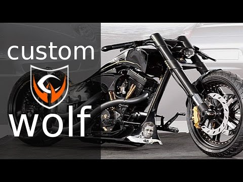 """Harley Davidson S&S Cycles """"Tribute to Porsche"""" by Custom Wolf 