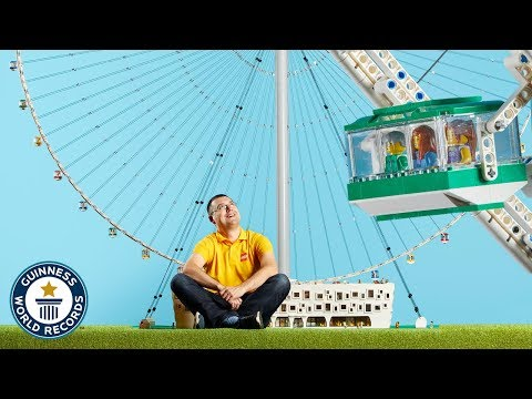 Building a Ferris Wheel with LEGO Blocks
