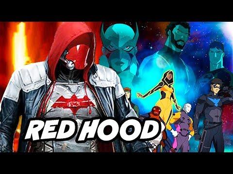 Young Justice Season 3 Red Hood Scene and Batman Damian Wayne Easter Eggs