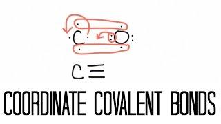 Coordinate Covalent Bonding (Carbon Monoxide)