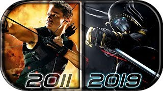 EVOLUTION Of HAWKEYE / RONIN In MCU Movies (2011-2019 Avengers Endgame Hawkeye Transforms Into Ronin