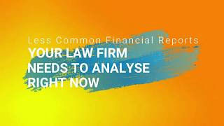 Exploring the Importance of Various Financial Metrics for Law Firms