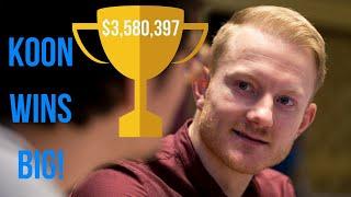 Jason Koon Takes $3.6m for the Short Deck Triton Event