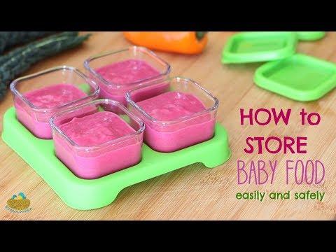 Share  sc 1 st  iPlay Baby & Glass Baby Food 4oz Storage Cubes 4pk