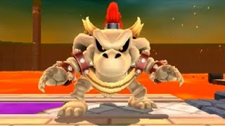 Super Mario Series - All Dry Bowser Boss Battles