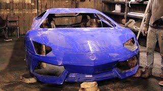 Replica Lamborghini Aventador / Спорт-кар своими руками!