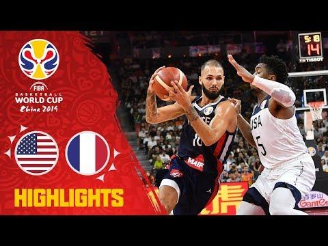 USA v France – Full Game Highlights – Quarter-Final – FIBA Basketball World Cup 2019