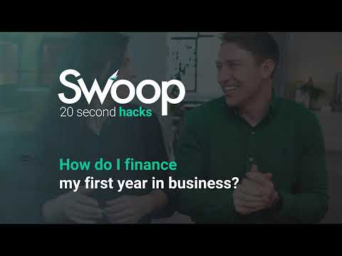 How do I finance my first year in business?