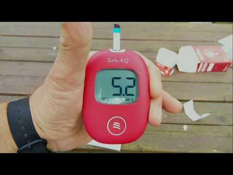 Глюкометр SINOCARE Safe AQ / Glucometer SINOCARE Safe AQ
