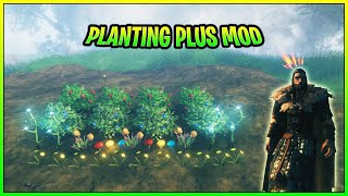 Valheim Planting Plus Mod Showcase