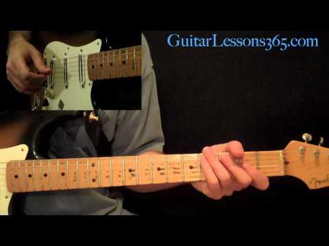 The Beatles - Something Guitar Lesson Pt.1 - All Chords, Rhythms & Fills