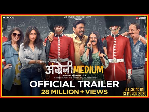 Angrezi Medium Movie Trailer