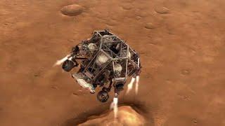 NASA's Mars 2020 Perseverance Rover Landing Animations