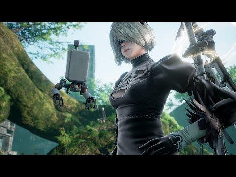 《劍魂6》DLC第二彈預告《尼爾:自動人形》「2B(寄葉二號B型)」參戰!